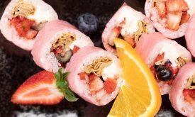 Sushi na słodko dla dzieci